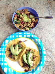 Vegan and Gluten-Free Leftover Taco Salad