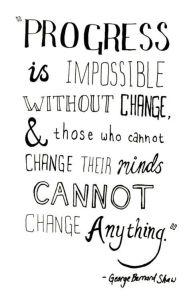 Progress - Change