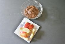 Vegan Chocolate Shakeology Yogurt Pudding Dip