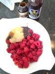 Vegan, Gluten-Free and Sugar-Free Tart Raspberry Oat Cookies