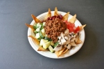 Vegan and GF Taco Salad w/Baked Chips