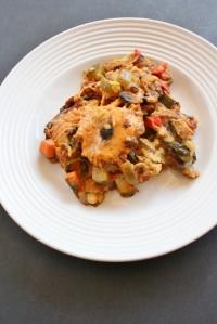 Vegan & GF Crockpot Enchilada Lasagna