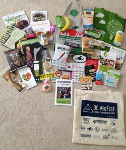 DC VegFest Goodies