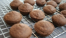 Vegan and Gluten-Free Orange Chocolate Mini Muffins