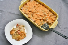 Vegan and Gluten-Free Brunch Potato Lasagna
