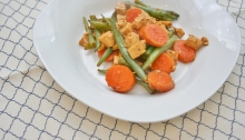 Vegan, Gluten-Free and Sugar-Free Sweet and Savory Tofu and Veggies