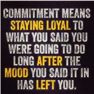 Commitment Means