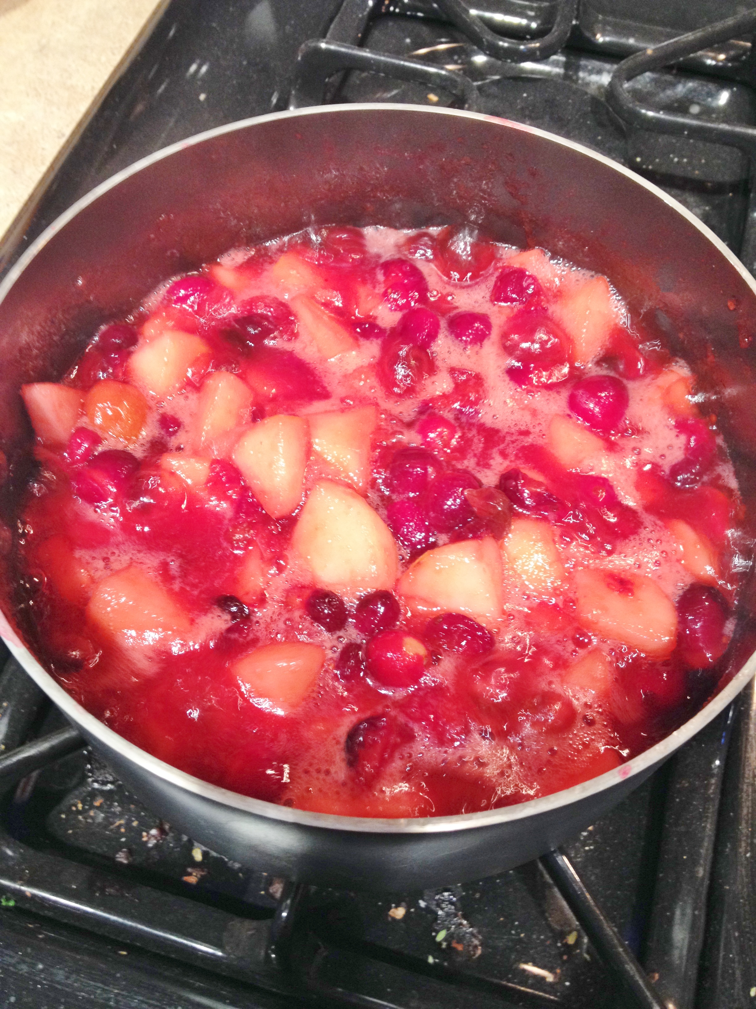 sauce with pears ginger pear cranberry sauce cranberry pear sauce ...