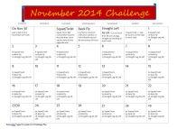 November Workout Challenge