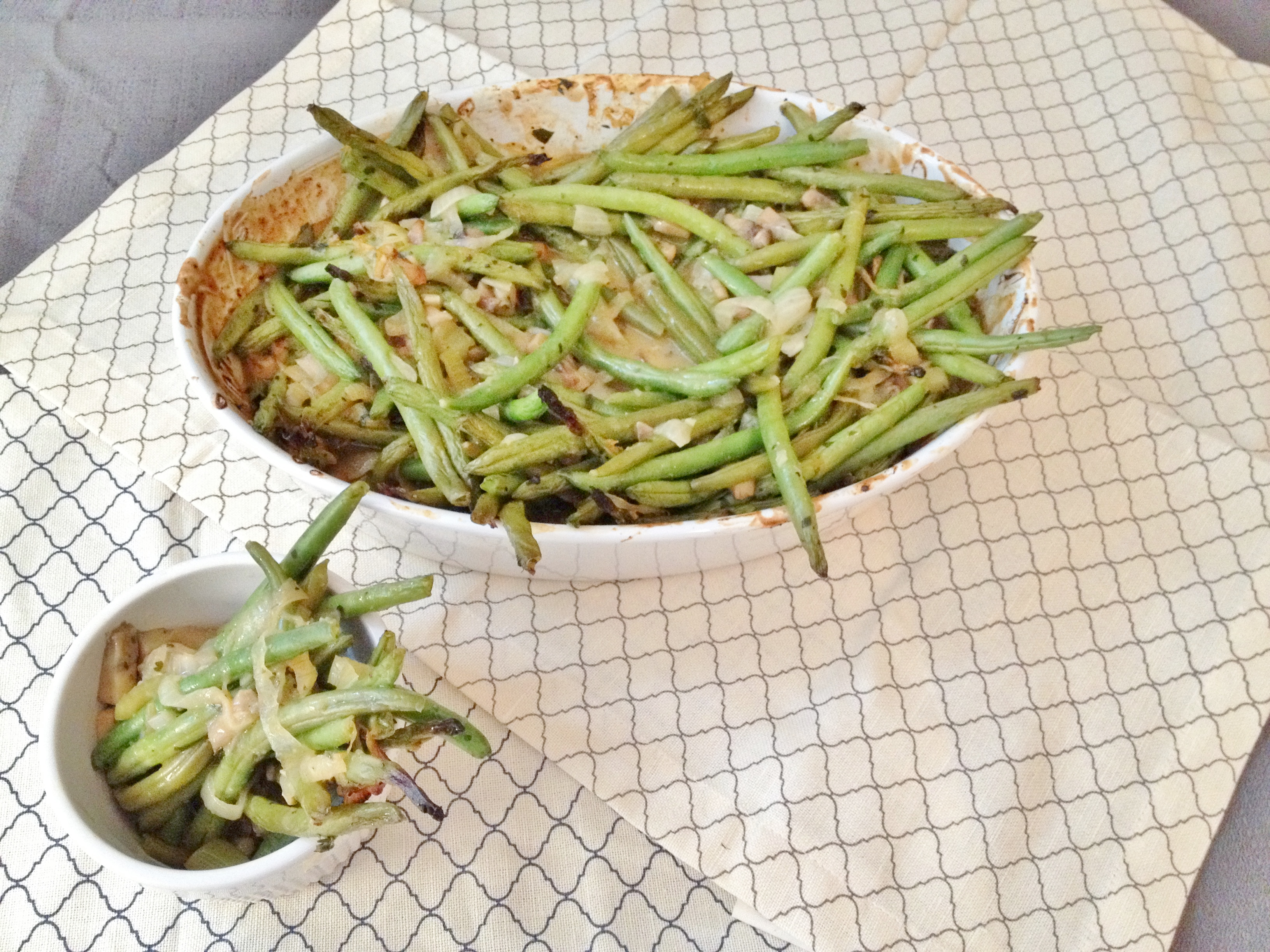 gluten free vegan green bean casserole the vegan gluten free sequel ...