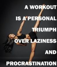 Workout is personal