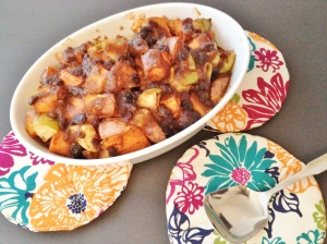 Vegan and Gluten-Free Fruity Sweet Potatoes
