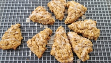Vegan and Gluten-Free Pumpkin Gingerbread Scones