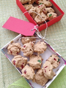Vegan and Gluten-Free Fruitcake Cookies