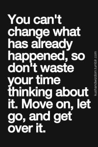 You can't change