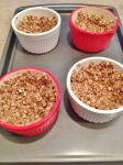 PB Granola Cups & Strawberry Tofu Mousse