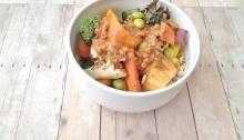 Vegan and Gluten-Free Pad Thai Burrito Bowl