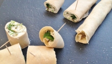 Vegan and Gluten-Free Santa Fe Wraps