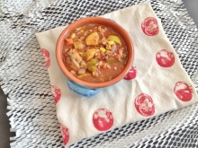 Vegan and Gluten-Free Enchilada Soup