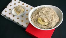 Vegan and Gluten-Free Artichoke White Bean Dip