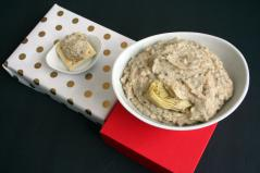 Vegan and Gluten-Free Artichoke White Bean Dip