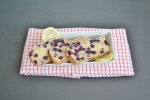Vegan & Gluten-Free Lemon Blueberry Yogurt Bread