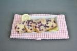Vegan & Gluten-Free Lemon Blueberry Yogurt Bread