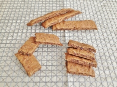 Vegan and Gluten-Free Pecan Coffee Biscotti