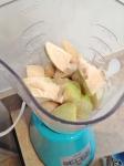 Vegan and Gluten-Free Vanilla Pear Banana Protein Smoothie
