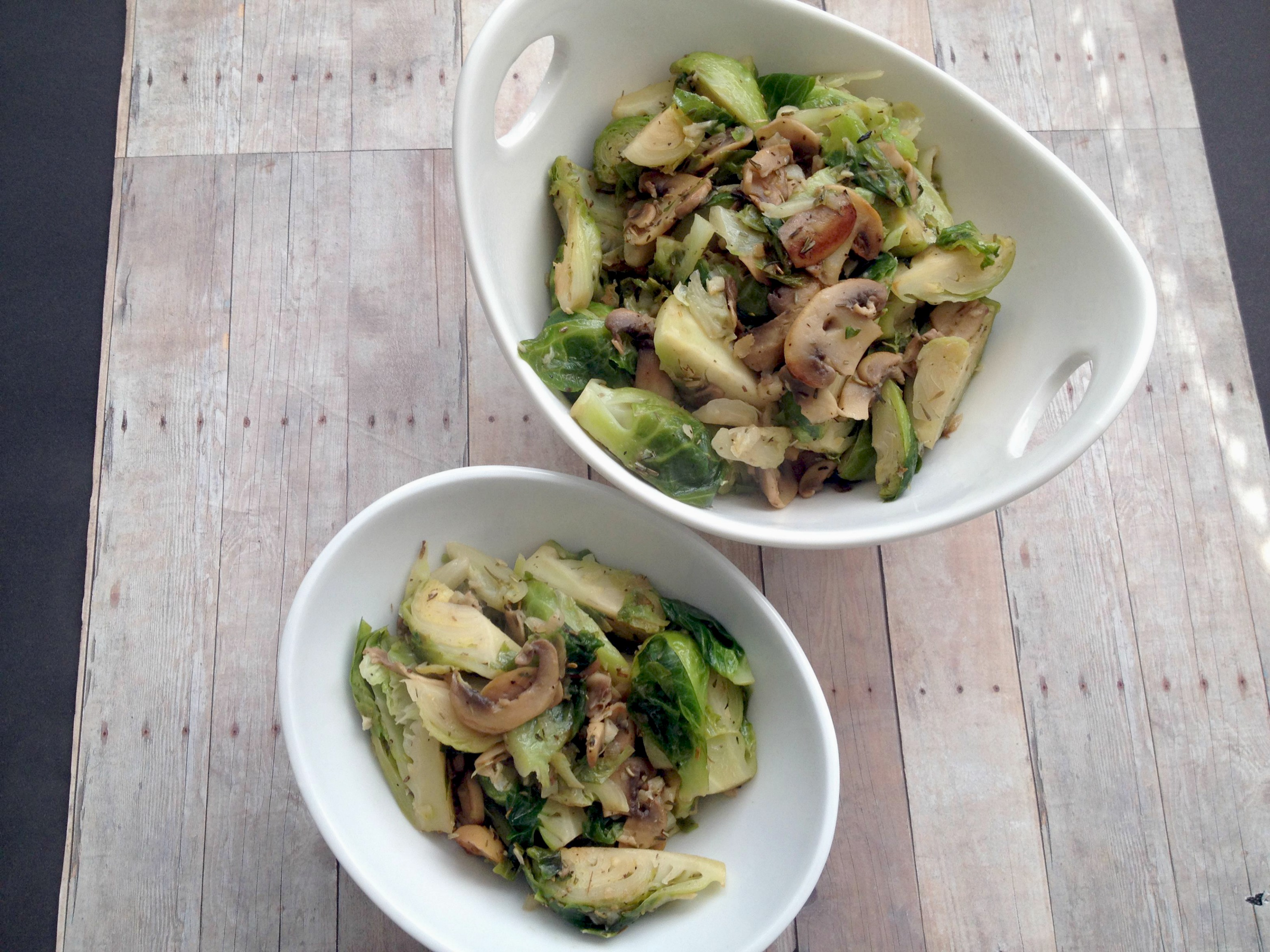how to make sauteed brussel sprouts