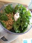 Vegan, Gluten-Free, Clean Eating Guacamole Pesto Pasta