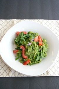 Vegan, Gluten-Free, Clean Eating Guacamole Pesto Pasta