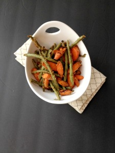 Vegan, Gluten-Free, Sugar-Free and Clean Eating Maple Mustard Glazed Roasted Veggies
