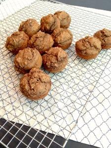 Vegan, Gluten-Free, and Sugar-Free Banana Chocolate Peanut Butter Muffins