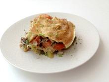 Vegan, Gluten-Free, Clean Eating Pad Thai Enchilada Pie