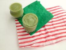 Vegan and GF SF Green Tofu Tropical Smoothie