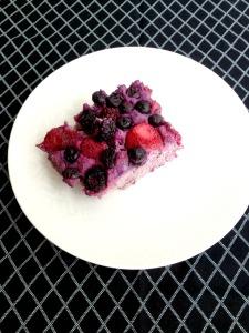 Vegan, Gluten-Free, and Sugar-Free Fruity Fritatta