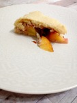 Vegan and Gluten-Free Peaches and Cream Galette