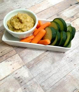 Smoky Zucchini Hummus