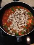 Vegan and Gluten-free BBQ Chicken Soup