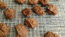 Vegan and Gluten-Free Chocolate Sweet Potato Protein Cookies