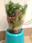 Avocado Pesto Smothered Corn Salad