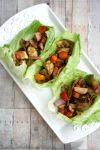 Vegan, Gluten-Free Lettuce Wrap Tacos - Elimination Diet Meal