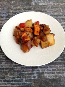 Vegan and Gluten-Free Mexi-Style Brunch Potatoes