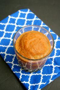 Vegan, Gluten-Free, Sugar-Free Fall Flavored Pumpkin Frappuccino