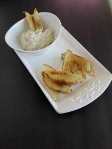 Cashew Ranch Cream Cheese Dip and Crispier Potatoes