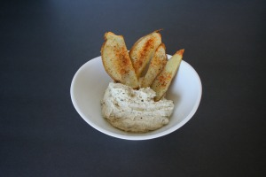 Cashew Ranch Cream Cheese Dip and Crispier Potatoes