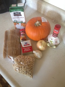 Vegan and Gluten-Free Simple Pumpkin Alfredo