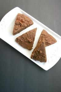 Vegan and Gluten-Free Chocolate Hazelnut SconesVegan and Gluten-Free Chocolate Hazelnut Scones