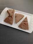 Vegan and Gluten-Free Chocolate Hazelnut Scones